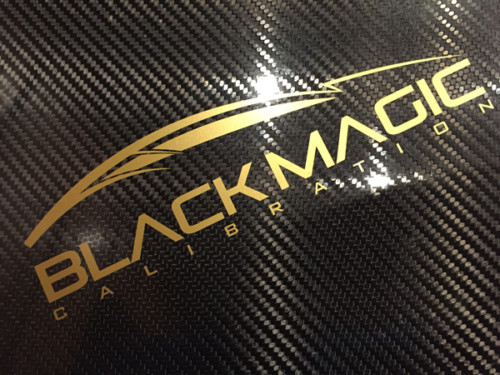 Black Magic Large Sticker
